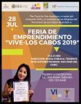 """Gobierno Municipal te invita a la Feria de Emprendimiento """"Vive – Los Cabos 2019"""""""