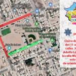 Confirma Seguridad Pública, cierre de calles aledañas a la Feria Regional Expo Comondú 2019