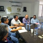 Encuentro del Alcalde Walter Valenzuela con personal del CETMAR