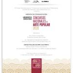 Invitación al lanzamiento de convocatorias de Concursos Nacionales de Arte Popular 2019