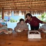 Significativo convivio por el Día del Abuelo en Casa Hogar Alborada