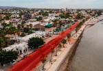 Este lunes habrá cierre parcial del malecón de La Paz