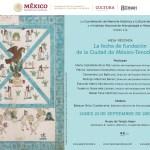"""Mesa redonda sobre """"La fecha de fundación de Tenochtitlán"""""""