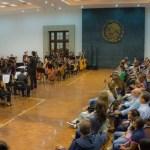 Orquesta Escuela Carlos Chávez realizó una ecléctica reflexión sonora sobra la Migración