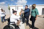 ENTREGA GOBERNADOR RECÁMARAS INCLUYENTES A PERSONAS CON DISCAPACIDAD Y ADULTOS MAYORES