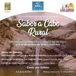"""Se afinan últimos detalles para el gran evento """"Sabor a Cabo Rural"""""""