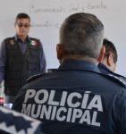 POLICÍAS MUNICIPALES DE LA PAZ SE CAPACITAN EN FORMACIÓN INICIAL