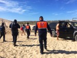 En plena fase 3 de COVID-19, más de 120 personas fueron retiradas de las playas de Los Cabos