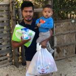 Contribuyen regidores del Gobierno de Los Cabos en la entrega de apoyos a las familias vulnerables