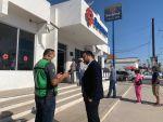 Protección Civil realiza recorridos por instituciones bancarias