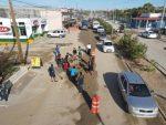 Con la colaboración de la ciudadanía y dependencias que integran la XIII Administración, limpian Avenida Los Cabos.