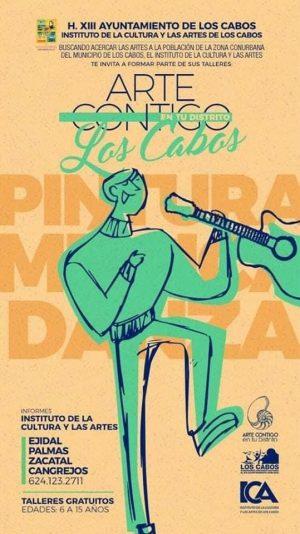 """ICA Los Cabos promueve expresiones culturales a través de los programas """"Arte Contigo"""""""