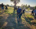 Continúa INDEM Los Cabos las Jornadas de Limpieza en espacios públicos deportivos