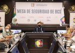 TRABAJO COORDINADO DE LA MESA DE SEGURIDAD POSICIONAN A BCS COMO UNA ENTIDAD SEGURA: ÁLVARO DE LA PEÑA