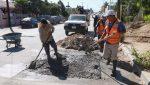 Rehabilita Obras Públicas 72 metros cuadrados de concreto hidráulico en la colonia San José Viejo Fundador