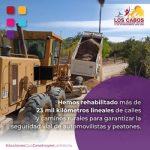 Garantizan la movilidad con la rehabilitación de más de 23 mil kilómetros de calles y caminos rurales