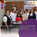 Con los programas permanentes del Instituto de las Mujeres en Los Cabos se han realizado más de 2 mil 500 acciones