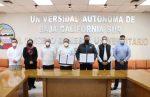 FIRMAN GOBIERNO DEL ESTADO Y UABCS, CONVENIO EN MATERIA DE PROFESIONALIZACIÓN EN JUSTICIA PENAL