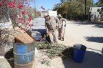 Más de 49 mil toneladas de ramas y cacharros se han retirado de las calles de Los Cabos