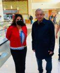 Reconoce Armida Castro el apoyo de Andrés Manuel López Obrador para beneficio de las y los cabeños