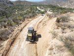 Servicios Públicos inició el raspado de más de 21 kilómetros de terracería con dirección a La Candelaria en CSL