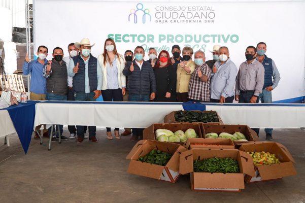 EL SECTOR PRODUCTIVO SUDCALIFORNIANO ES ORGULLO DE BCS: CONSEJO ESTATAL CIUDADANO