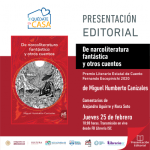"""PRESENTARÁN EL LIBRO GANADOR DEL PREMIO ESTATAL DE CUENTO """"FERNANDO ESCOPINICHI 2020"""""""