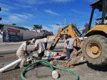 Repara Obras Públicas baches en la colonia Palmas Homex en CSL