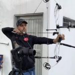SE REPORTA LISTO ANTONIO HIDALGO AL PANAMERICANO DE TIRO CON ARCO