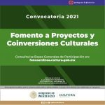 ABREN CONVOCATORIA DE FOMENTO A PROYECTOS Y CONVERSIONES CULTURALES EN BCS