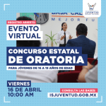 ABREN CONVOCATORIA PARA EL CONCURSO ESTATAL JUVENIL DE ORATORIA 2021