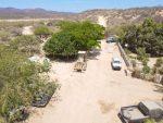 Para prevenir accidentes vehiculares, el Gobierno de Los Cabos realiza el mantenimiento del camino a la Costa