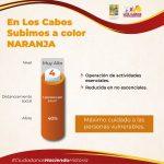 Los Cabos retrocede a color naranja en el semáforo COVID-19