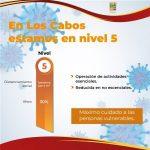 Los Cabos es uno de los municipios con mayor aplicación de vacunas; se mantiene en el nivel 5 del Sistema de Alerta Sanitario