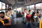 Personal de Transporte refuerza la inspección en camiones urbanos para evitar contagios de COVID-19 en CSL