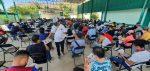 Para garantizar la seguridad de las familias que habitan en zonas de riesgo, autoridades municipales supervisan refugios temporales