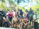 Jóvenes con Oscar Leggs, otorgan apoyos alimenticios a familias de escasos recursos