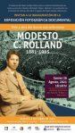 EXPONDRÁ ARCHIVO HISTÓRICO OBRAS DE MODESTO C. ROLLAND