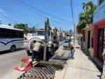 """Intensifica Oomsapas Los Cabos programa de desazolve de alcantarillas, tras el paso del huracán """"Olaf"""""""