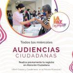 Ofrecerá Alcaldesa las Audiencias Ciudadanas