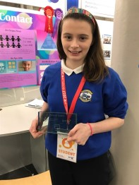 Ciara - Winner at BT Young Scientists 2017