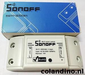 De Sonoff 10A van ITEAD