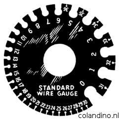 American Wire Gauge pasmal