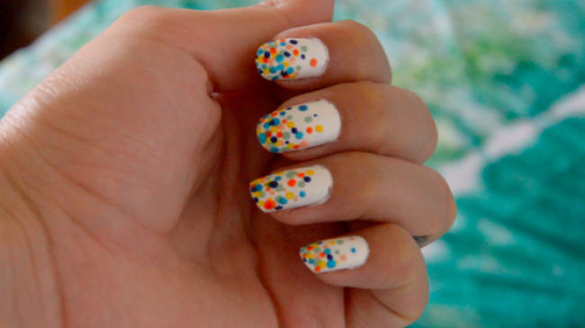 Tuto Nail Art Facile Coloré