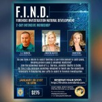 PSYCHIC FORENSIC INVESTIGATION WORKSHOP