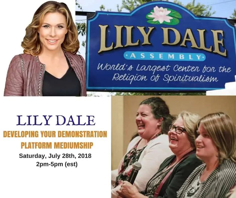 Platform-Mediumship-Class-Lily Dale-NY
