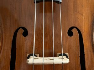 String Bass at Luthier's