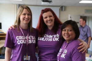 CCUK, north essex, Colchester, hospital, IBD, Crohn's, Colitis, Joy Mason, Kelly Turner
