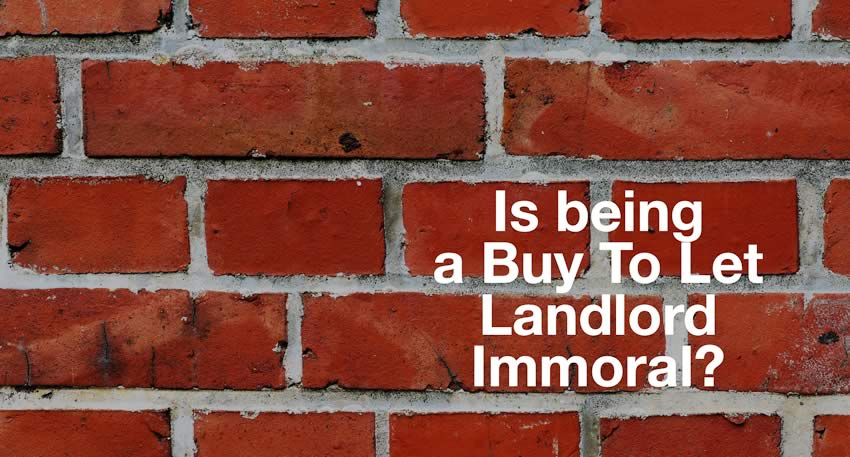 is buy to let immoral?