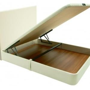 Base rebatível sem cabeceira c/ colchão de molas normal 195 X 150